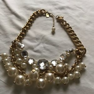 Lilly Pulitzer Bubble and Crystal Necklace